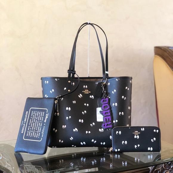 Coach Handbags - NWT Coach Disney Snow White Tote&wristlet&wallet
